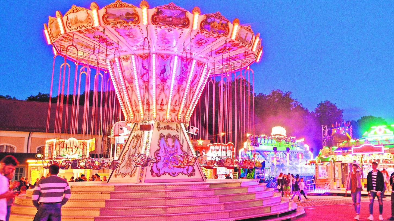 Dieses Foto stammt aus dem Jahr 2018, als noch ein normales Volksfest möglich gewesen ist. In den kommenden beiden Wochen wird das Fest nun in deutlich kleinerem Rahmen über die Bühne gehen. Ein Ausflugsziel gibt es aber dennoch an zwei Standorten.