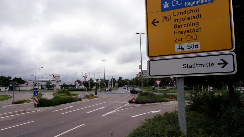 Zoff um den Umbau der Obi-Kreuzung in Neumarkt