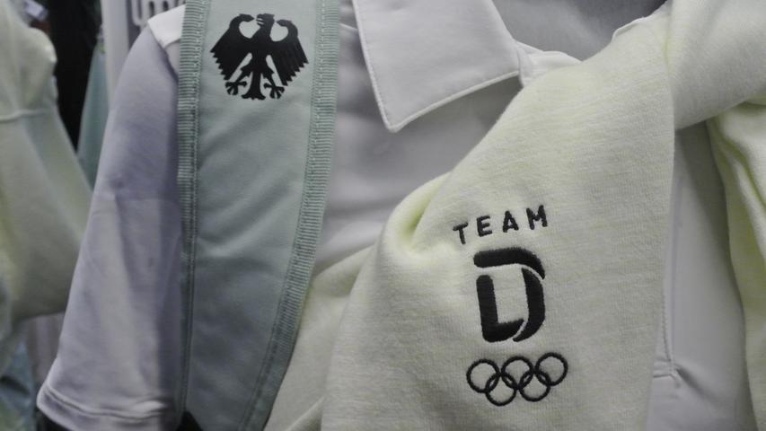 Olympia-Teilnehmer werden in Herzogenaurach für Tokio eingekleidet