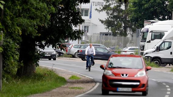 Gefährliche Stelle in Nürnberg: Verbesserungen für Radler und Fußgänger gefordert