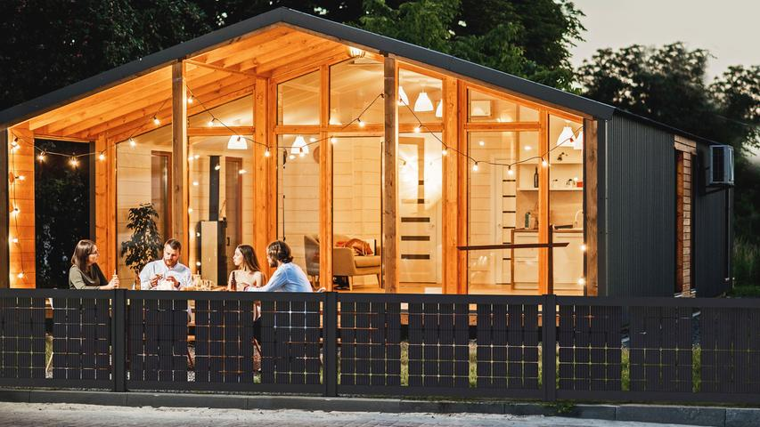 Solarstrom: So wird der Gartenzaun zum Kraftwerk