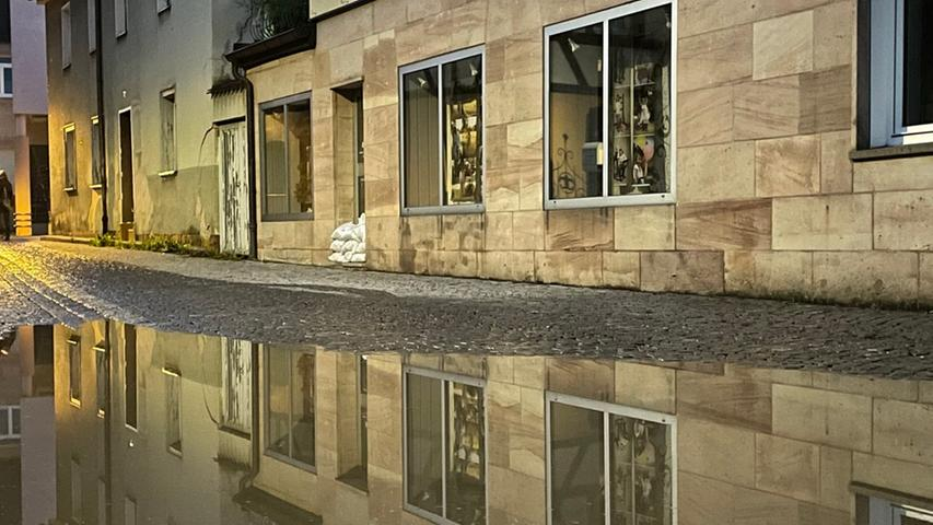 Die Hochwasserlage in Herzogenaurach und Höchstadt