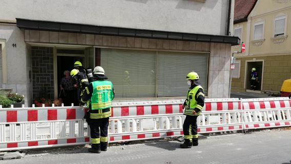 Gas-Alarm in Baiersdorf: Leck sorgt für Großeinsatz - Straße aufgerissen