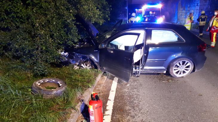 Der Schaden am Audi wird auf rund 5000 Euro geschätzt.