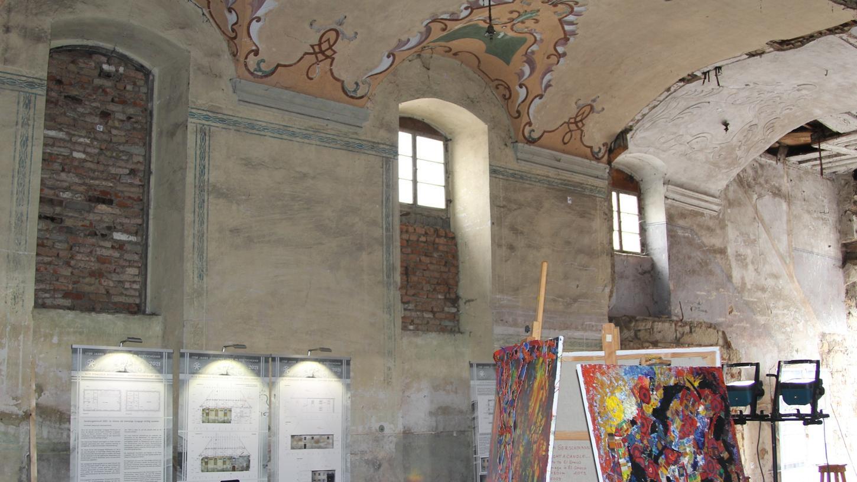 Das Forum Alte Synagoge hat am Sonntag in Mühlhausen eine interessante Ausstellung mit Werken von Irina Gerschmann und Informationen über die Bauuntersuchungen des Gebäudes im Schlossweg eröffnet.