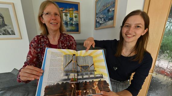 Statt einer Festschrift gibt es ein Bilderbuch zur Einweihung der Orgel in der Matthäuskirche