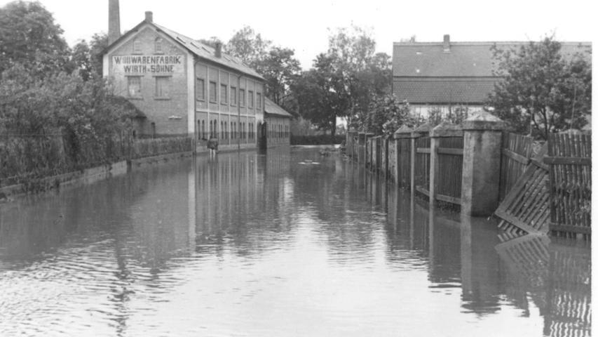 Als Herzogenaurach und Höchstadt 1941 vom Hochwasser getroffen wurden
