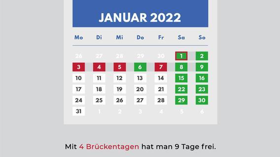 Brückentage 2022 in Bayern: So holen Sie sich das Maximum an Urlaub heraus