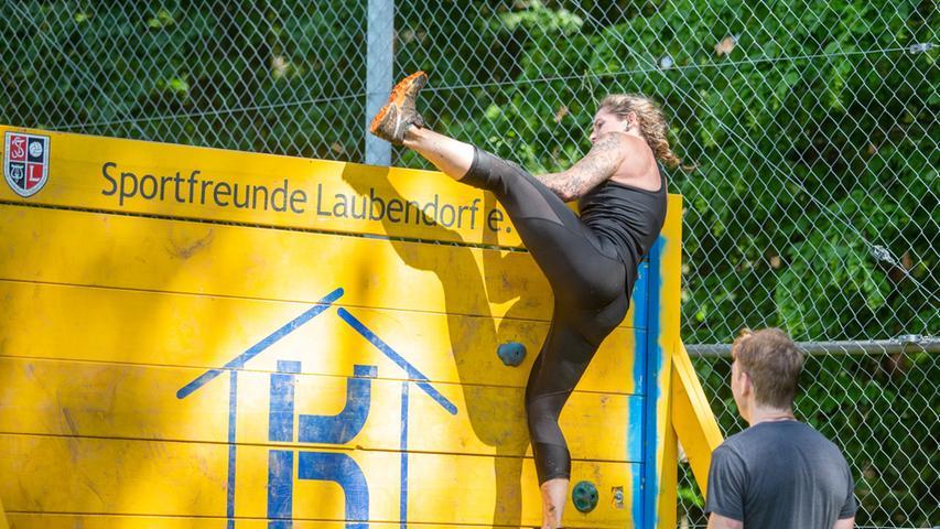 So lief der allerletzte Wrestling Run in Laubendorf