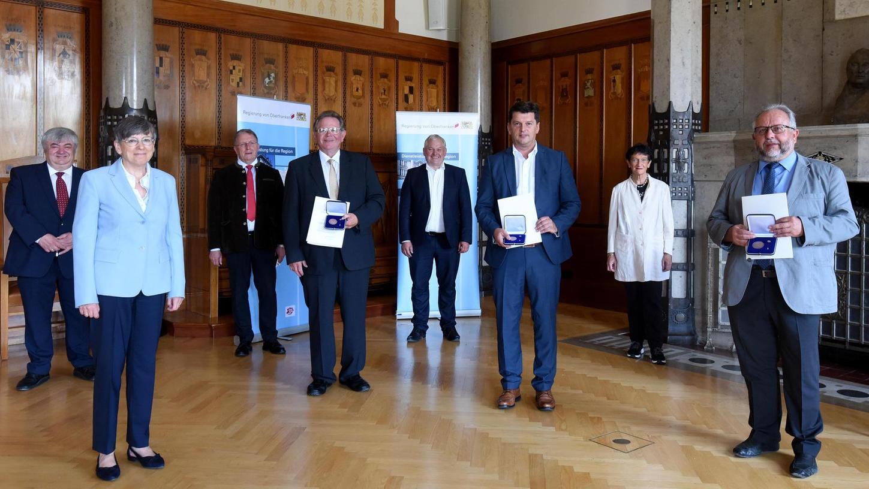 Kommunale Verdienstmedaille: Bürgermeister aus der Region ausgezeichnet