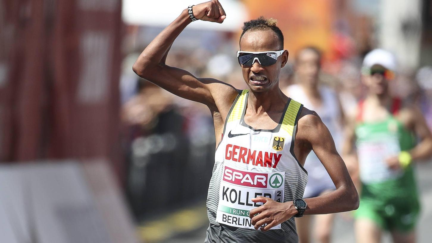 Die Teilnahme an der Heim-Europameisterschaft in Berlin 2018 geriet zum sportlichen und emotionalen Höhepunkt der Marathon-Karriere von Jonas Koller aus Velburg.
