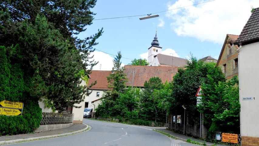 Ressort: Lokales - Forchheim....Datum: 29.06.2021....Foto: Athina Tsimplostefanaki....Hiltpoltstein..Hiltpoltstein..Ortsmitten-Serie:Impresionen