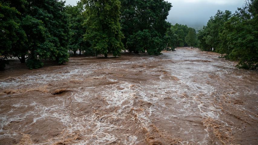 Auch Erdorf inRheinland-Pfalz wurde überschwemmt.
