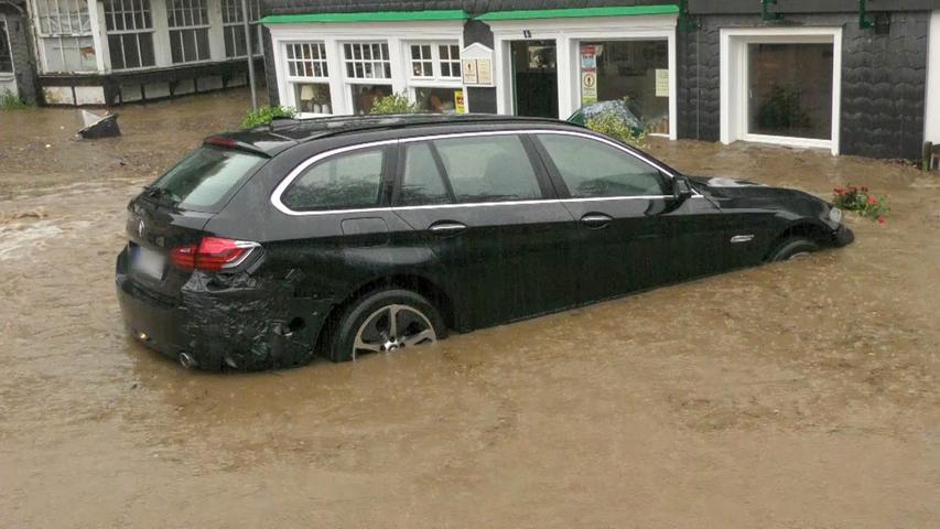 Auch Solingen war von den Überschwemmungen betroffen.