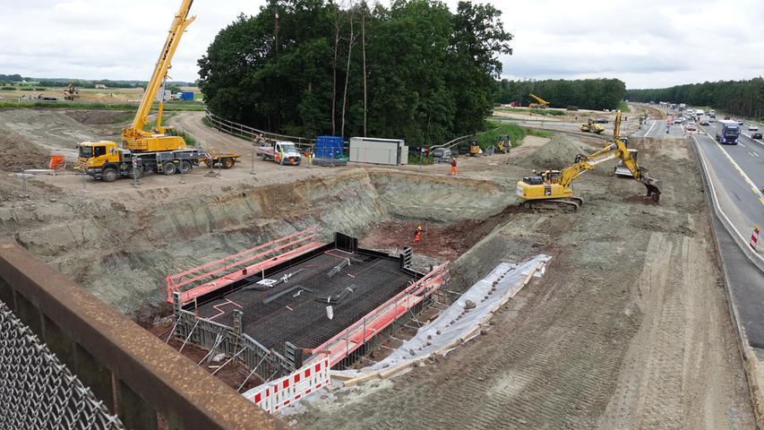 Die größte Baustelle Nordbayerns - ein logistisches Riesenprojekt