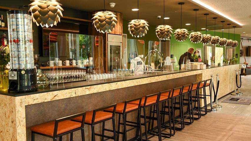 Hotel niu Hop in Forchheim überrascht mit Bier-Design