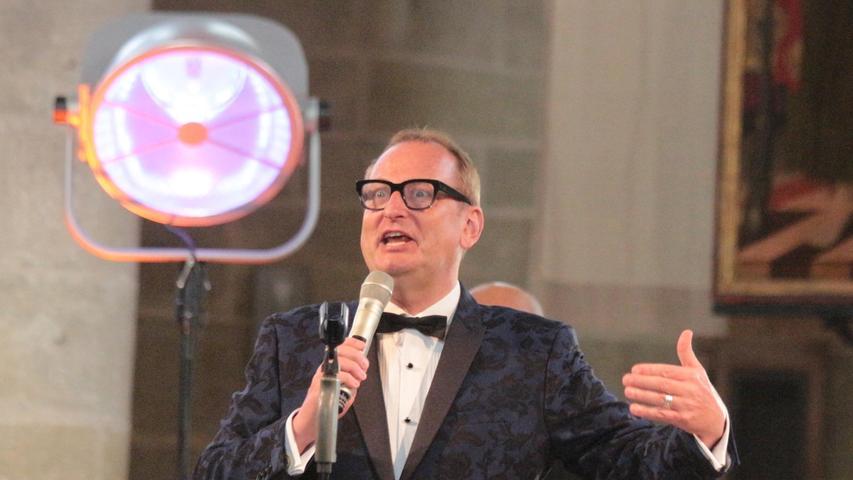 Glänzender Entertainer: Volker Heißmann bei seinem Konzert in Weißenburg.