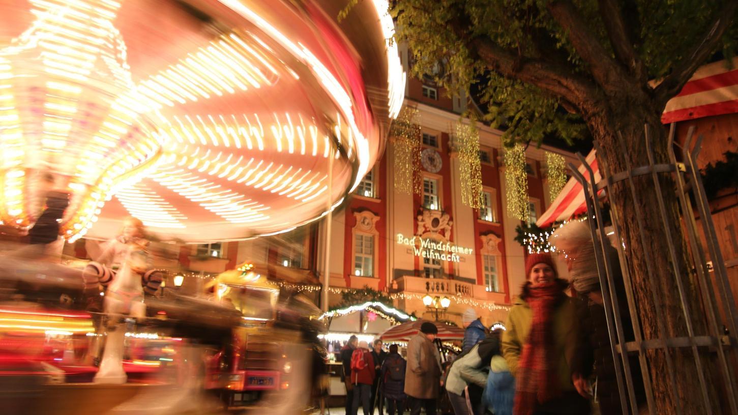 Wie der Weihnachtsmarkt in Bad Windsheim in diesem Jahr aussehen wird, ist noch offen.