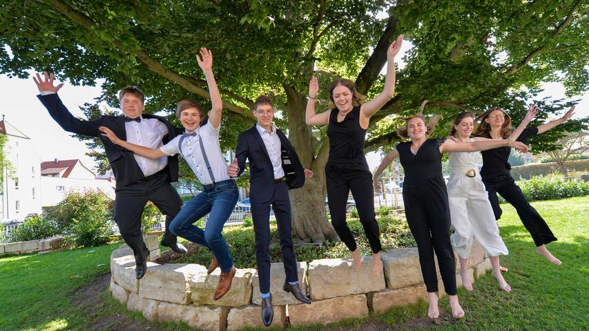 Glückwunsch! So war die Abi-Abschlussfeier 2021 am HGF in Forchheim
