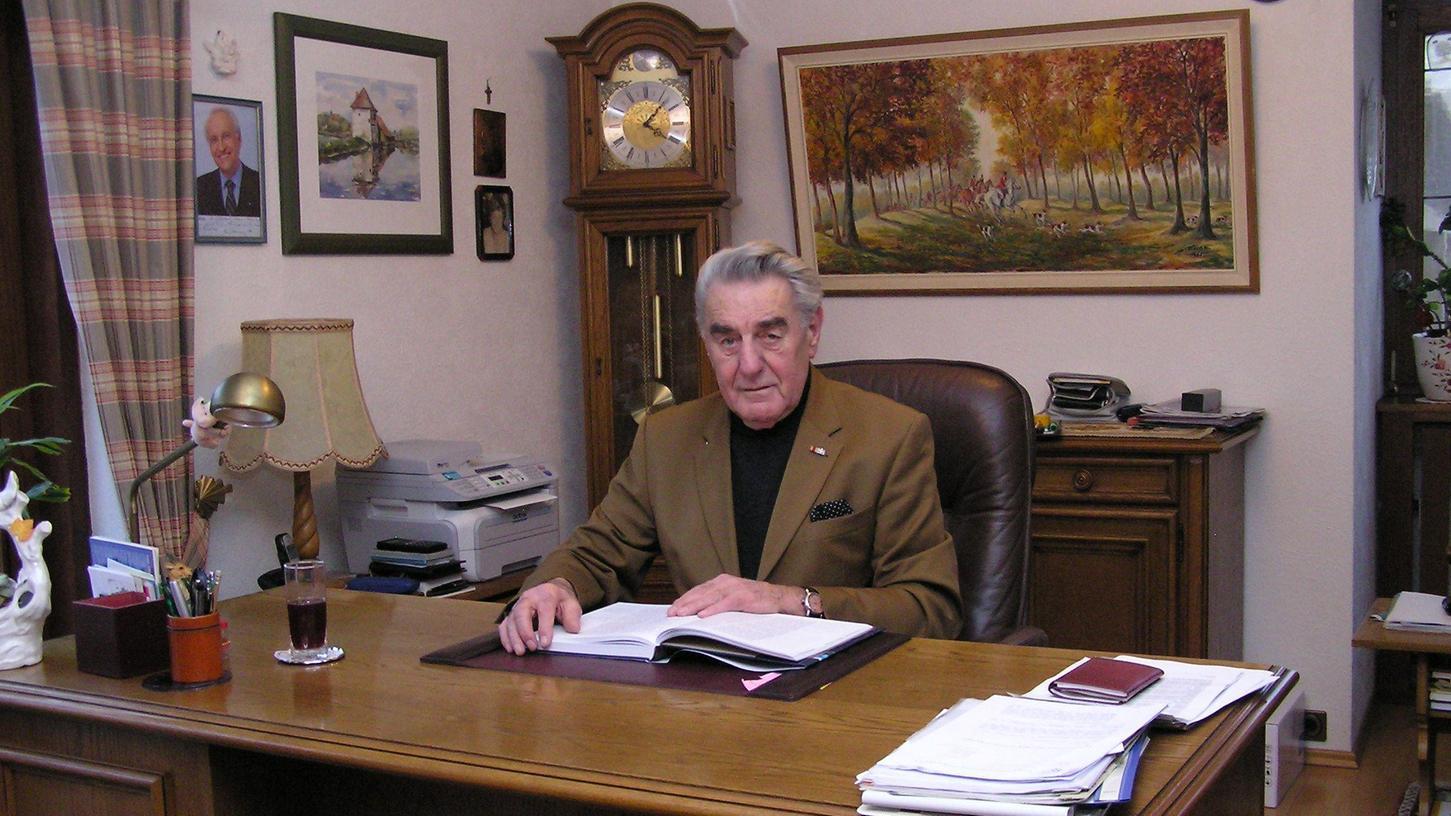 Der Politiker und Fisch-Aktivist Christoph Maier ist mit 90 Jahren in Eckental gestorben.