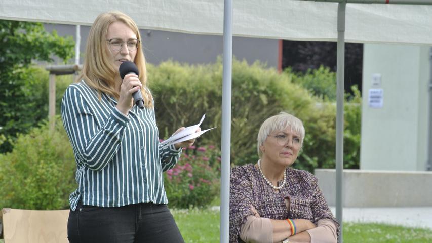 Tina Prietz möchte sich im Wahlkreis Erlangen für die Grünen durchsetzen.