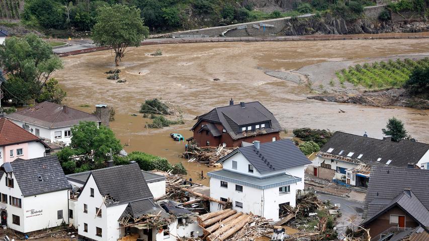 Auch dieses Bild stammt aus Dernau. Ein Ort, den es besonders schlimm traf.