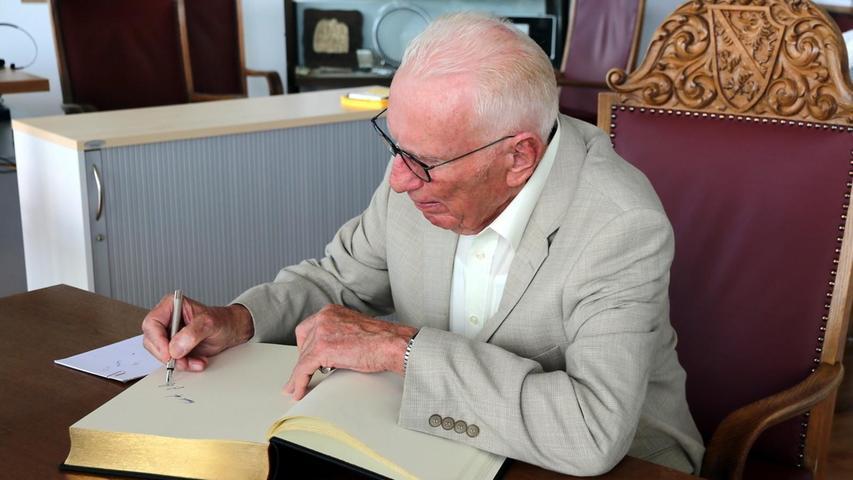Ein Urgestein des Herzogenauracher Stadtrates: Peter Prokop (SPD).