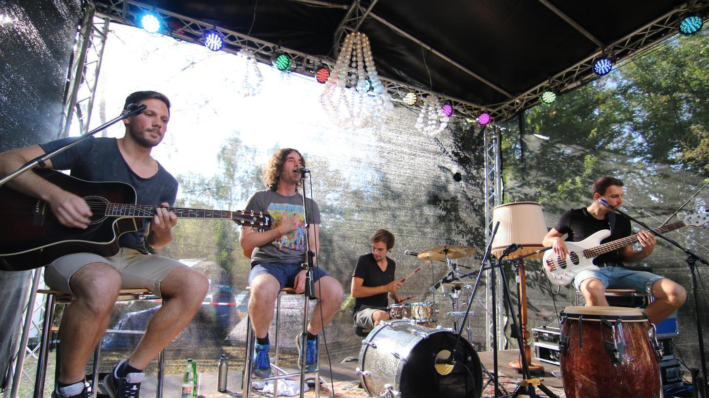 Die Bad Windsheimer Band Dazy Nerds eröffnete vor drei Jahren die Kleinturmbühne beim Weinturm Open Air.