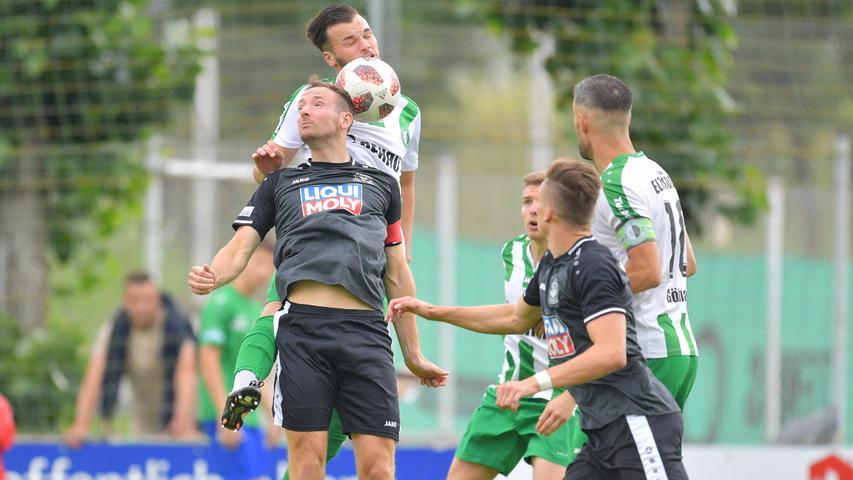 Mit dem VfB Eichstätt war zum Saisonauftakt der Vorjahres-Sechste zu Gast, der allerdings auch einen personellen Umbruch hinter sich hatte.