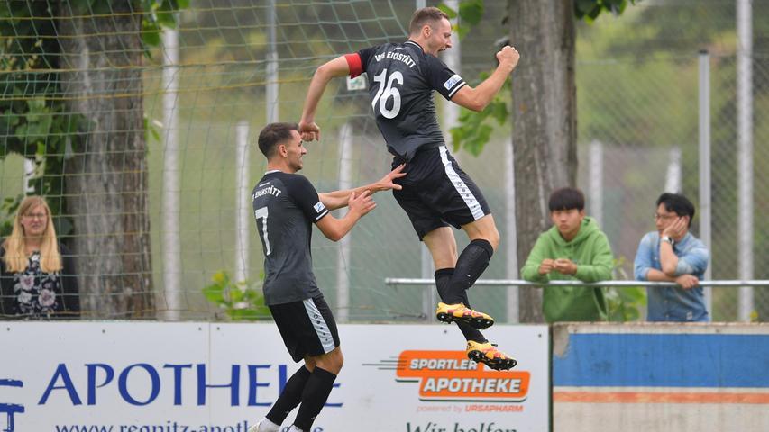 Besser kann eine Saison gar nicht beginnen aus Sicht des VfB Eichstätt.