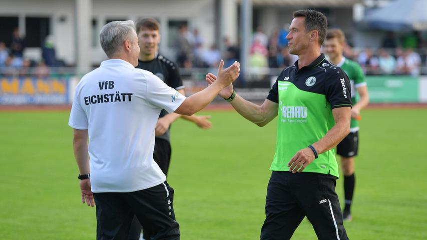 Für die Regionalliga-Teams geht es nun Schlag auf Schlag, bald stehen viele englische Wochen an. Eichstätt empfängt zunächst am kommenden Samstag Illertissen, der SC Eltersdorf tritt am Freitag beim FC Memmingen an.