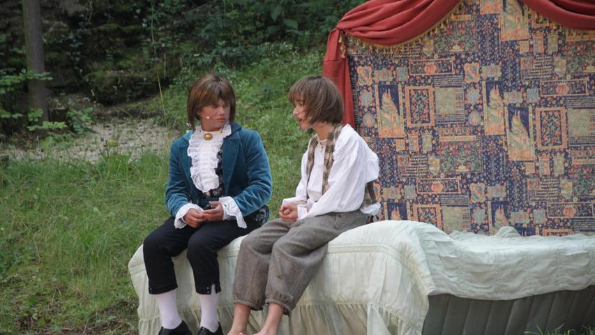 Weißenburger Bühne, U21, Prinz und Bettelknabe, Bergwaldtheater