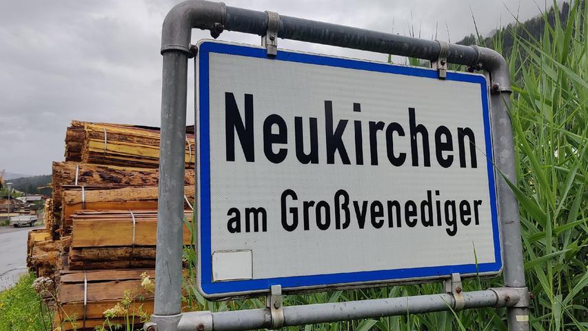 Fünf Kilometer vom Hotel entfernt liegt der Trainingsplatz in Neukirchen am Großvenediger.