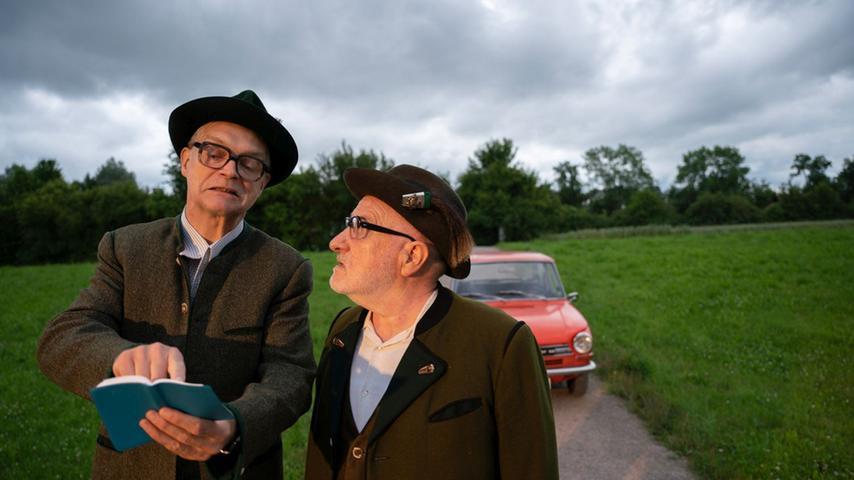 Das sind sie wieder: Die Freunde Albert (Andreas Fischer-Klärle) und Ludwig (Petrus Huber) aus
