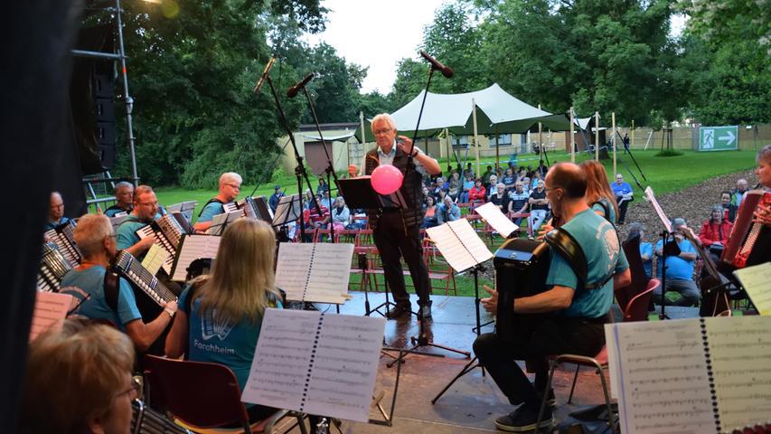 160 Besucher im Königsbad-Quartier: So ist Forchheim in den Kultur-Sommer gestartet
