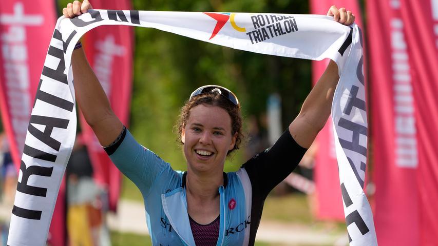 Foto: Salvatore Giurdanella, gesp. 7/2021;..Motiv: Rothsee-Triathlon 2021, Kurzdistanz am 18.07.2021