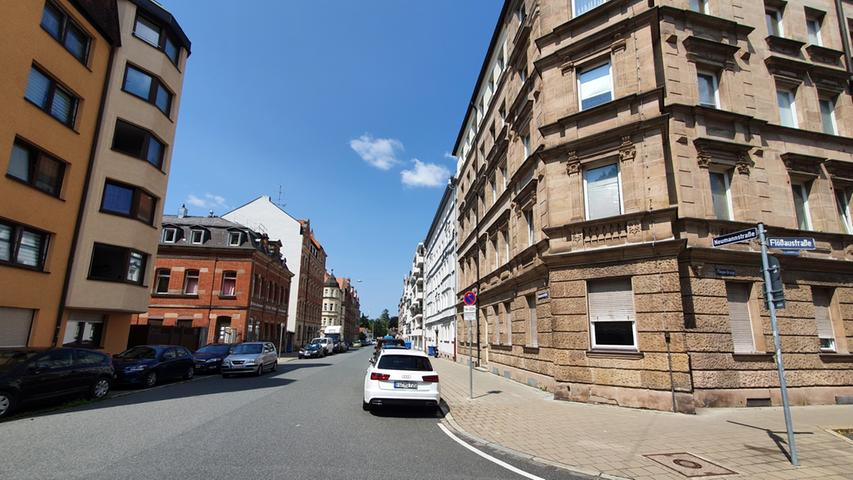 Auch dieses Stück der Neumannstraße in der Südstadt wurde fürs Experiment gewählt.