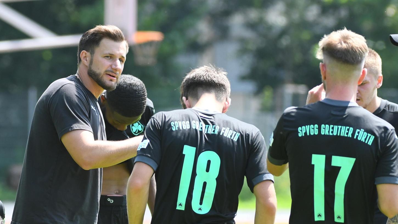 Stolz auf seine junge Mannschaft: Dominic Rühl (links).
