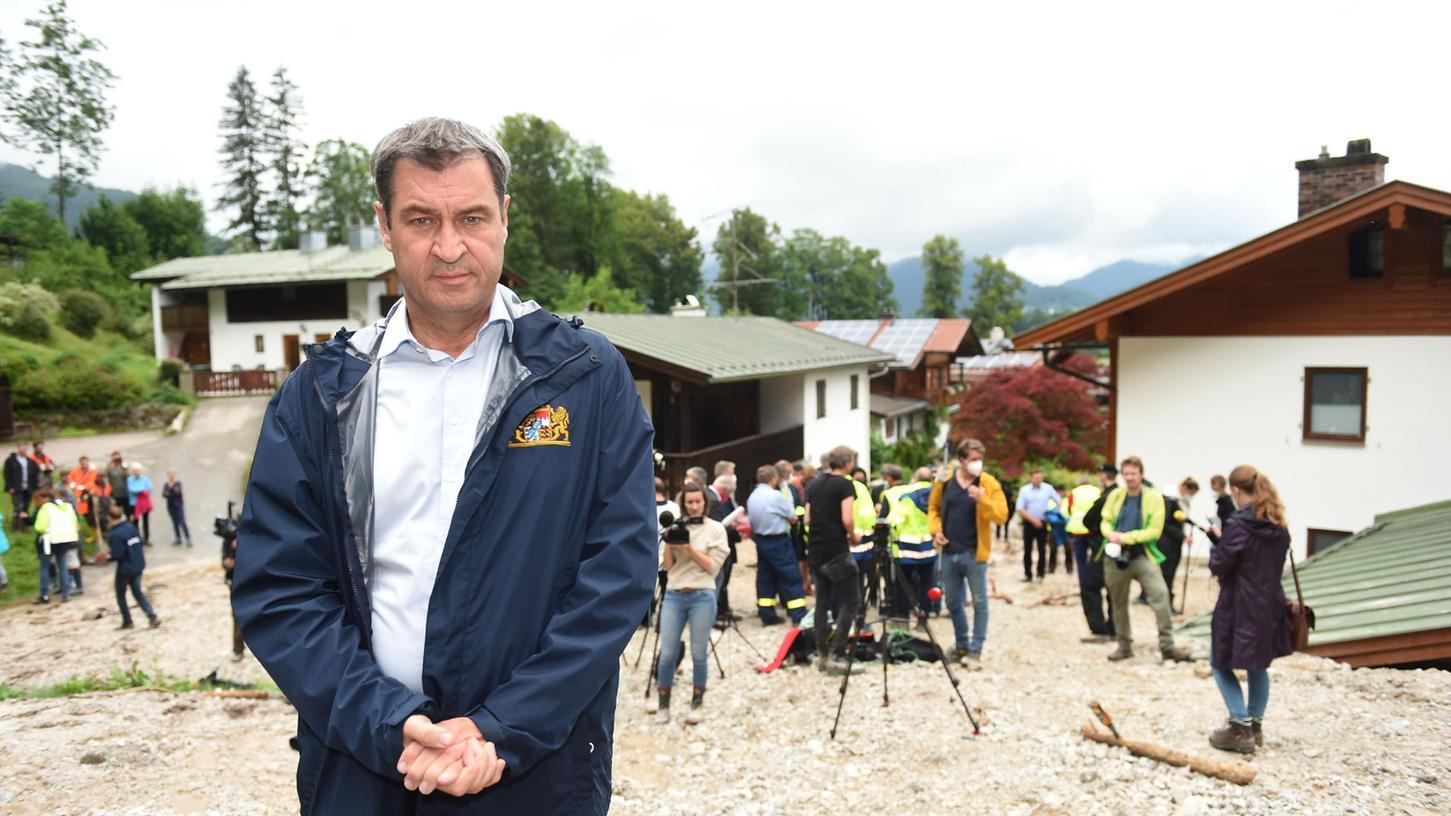 Ministerpräsident Markus Söder steht im Zuge des Klimawandels vor einer gewaltigen Herausforderung.