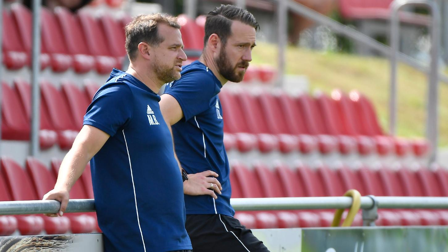 Haben den TSV Buch verlassen: Trainer Manuel Bergmüller (links) und sein AssistentUdo Brehm.