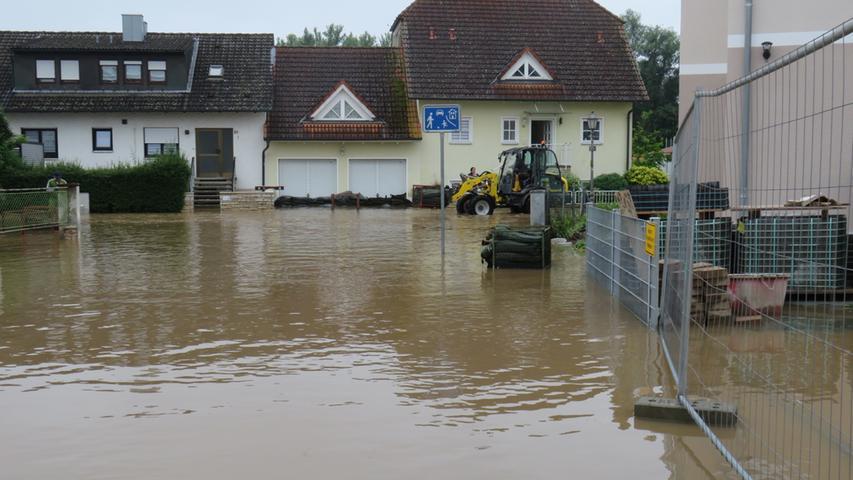 Nach Hochwasser in Höchstadt: Hätte früher gewarnt werden können?