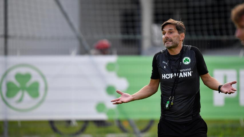 Denn nicht mit allem war Trainer Stefan Leitl zufrieden.