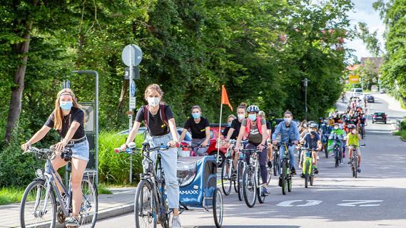 Fridays for Future: Hilpoltsteiner radeln für die Verkehrswende