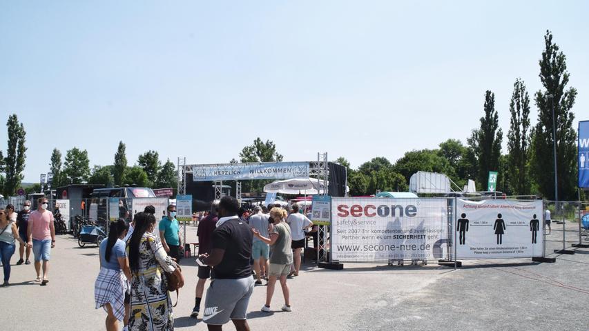Miguel Ortega zeigte sich seitens des Veranstalters sehr zufrieden. Das seien auch die Betreiber der 13 Trucks beim Bad Windsheimer Food Truck Festival , weiß er. D