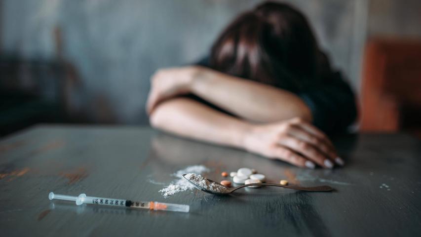 Auch in Erlangen und Umgebung kämpfen Menschen mit der Drogensucht