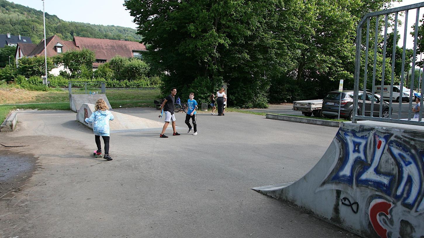 Die Stadt Ebermannstadt plant bereits einen neuen Biker- und Skaterplatz.