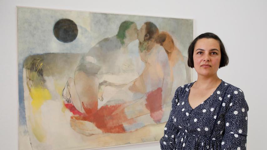 """Intime Harmonie beschwört Fatma Güdü in ihrem auch malerisch betörenden Bild """"Friedland"""", für das sie den 1. Preis erhält."""