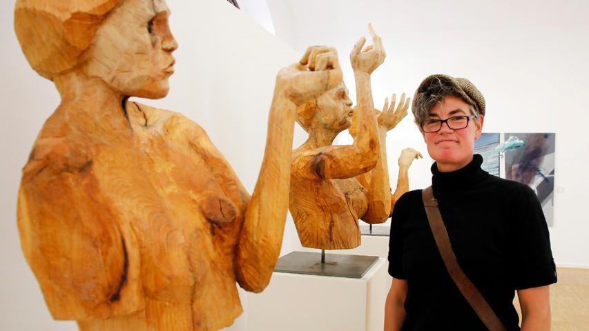 Starke Gesten: Nadine Elda Rosani mit ihrem Frauentrio