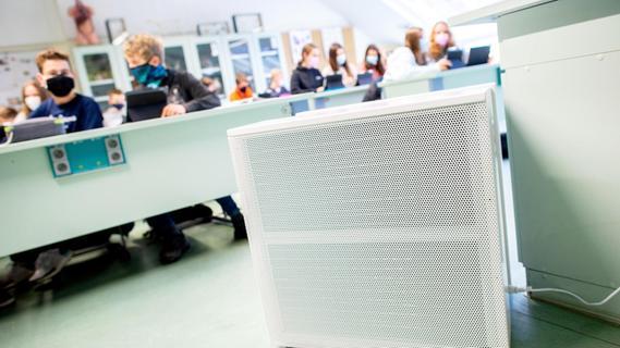Luftreiniger in Schulen: Kommunen sehen viele ungeklärte Fragen