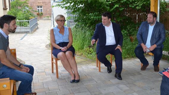 Schwabach: Speed Dating mit Hubertus Heil